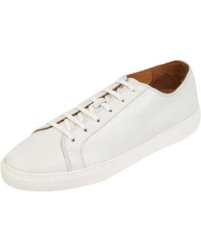 Białe sneakersy skorzane Gordon & Bros