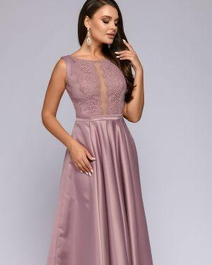 Вечернее платье с принтом 1001 Dress