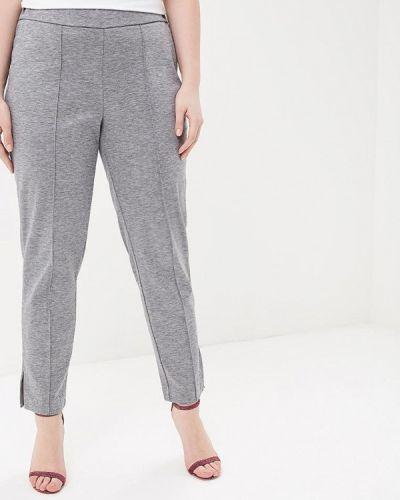Серые брюки Violeta By Mango