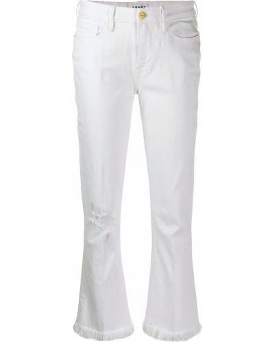 Расклешенные джинсы свободные mom Frame
