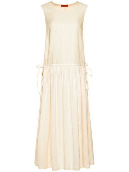 Sukienka casual - beżowa Max&co.