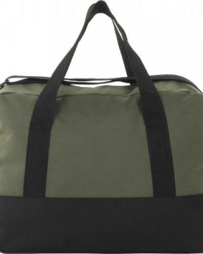 Тренировочная облегченная зеленая дорожная сумка Gsd