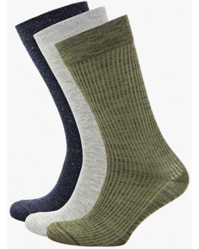 Носки зеленый набор Celio