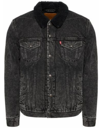 Czarna kurtka jeansowa Levi's