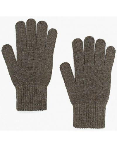 Перчатки зеленый текстильные Ferz