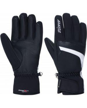 Кожаные перчатки спортивные горнолыжные Ziener
