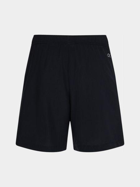 Черные шорты Calvin Klein