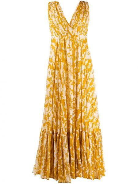 Платье с открытой спиной с запахом Mes Demoiselles