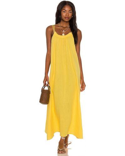 Пляжное платье - желтое Seafolly