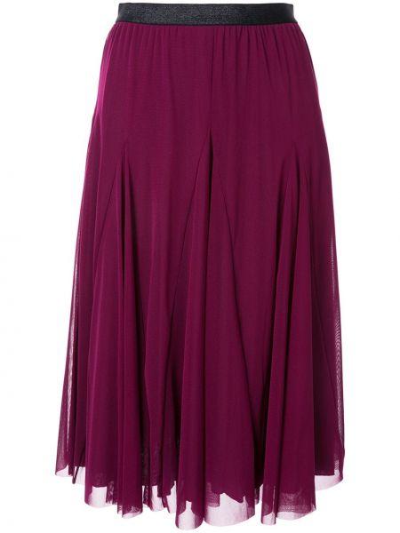 Плиссированная юбка с поясом сетчатая Tu Es Mon Trésor