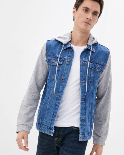 Синяя куртка осенняя Trendyol