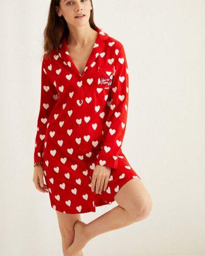 Домашнее красное платье Women'secret