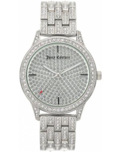 Zegarek mechaniczny srebrny kwarc Juicy Couture