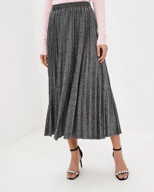 Плиссированная юбка джинсовая Guess Jeans