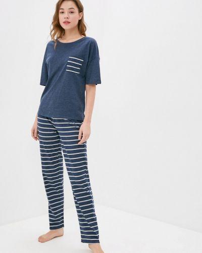 Пижамная синяя домашняя пижама Marks & Spencer