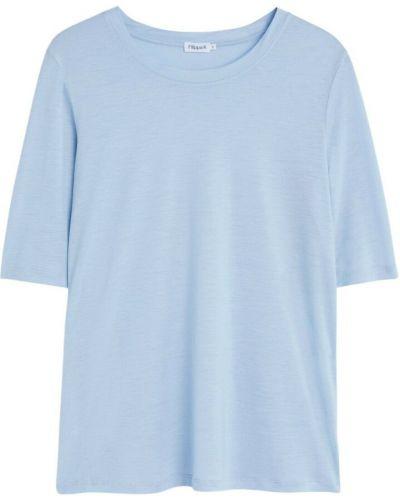 T-shirt - niebieska Filippa K