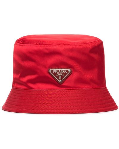 Bawełna bawełna kapelusz Prada