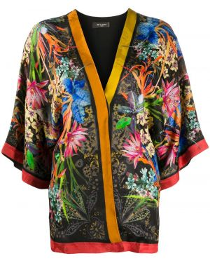 Kimono z rękawami jedwab Etro