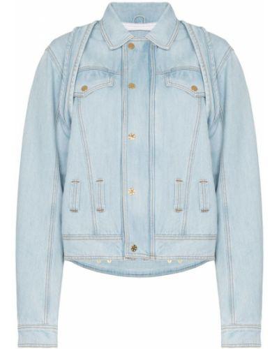Синяя джинсовая куртка свободного кроя на пуговицах Gmbh