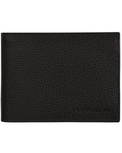 Złoty portfel - czarny Longchamp