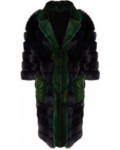 Зимнее пальто укороченное однобортное Dreamfur