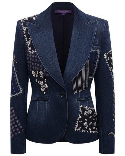 Джинсовый пиджак - синий Ralph Lauren