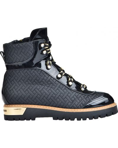 Ботинки на платформе кожаные осенние Loretta Pettinari