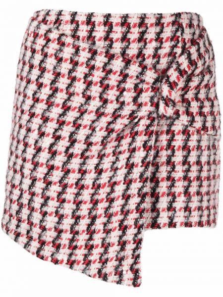 Шерстяная юбка - красная Amen.