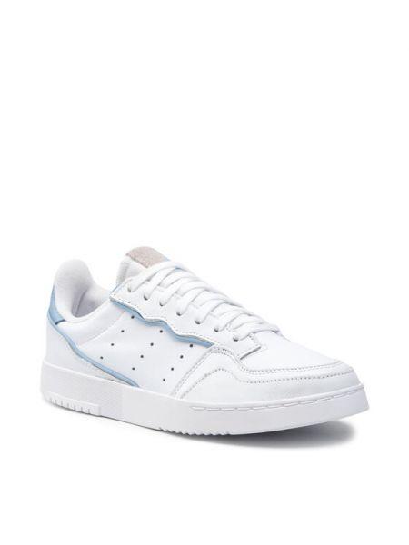 Półbuty - białe Adidas Originals