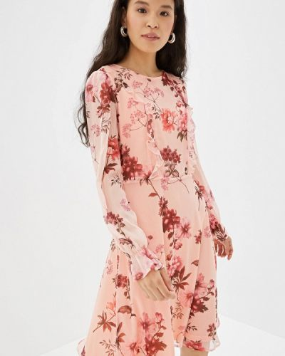 Платье коралловый прямое Incity