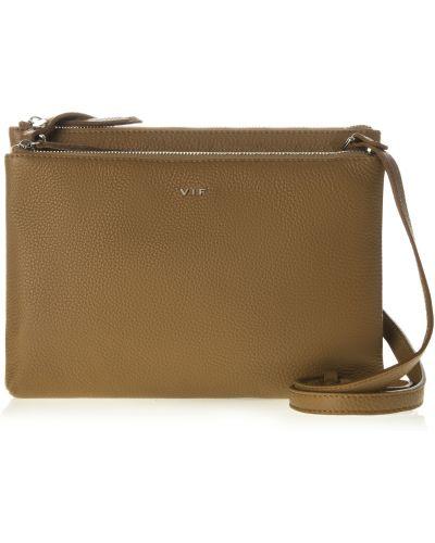 Кожаная сумка - коричневая Vif