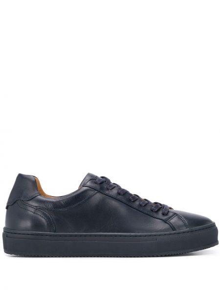 Кожаные кроссовки на каблуке на шнуровке Tommy Hilfiger