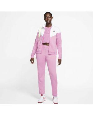 Повседневный спортивный костюм с поясом на молнии с воротником Nike