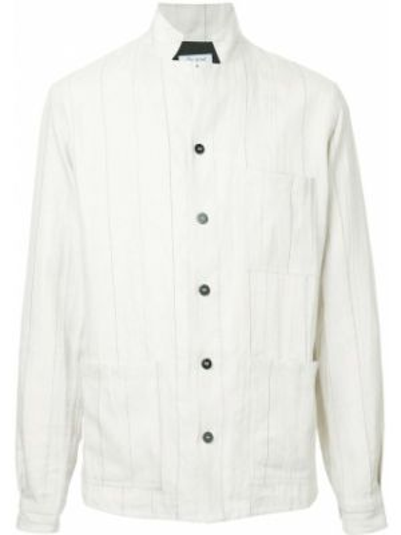 Облегченная льняная рубашка на пуговицах Bergfabel