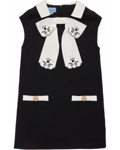Ватное хлопковое платье с вышивкой Mi.mi.sol.
