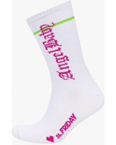 Белые носки Artem Krivda