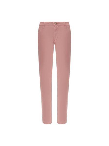 Хлопковые розовые джинсы Ag