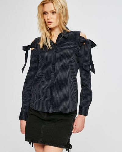 Блузка в полоску на пуговицах Jacqueline De Yong