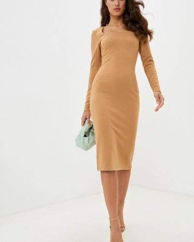 Платье - бежевое Mark Formelle