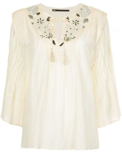 Блузка с рукавом 3/4 с широкими рукавами Muller Of Yoshiokubo