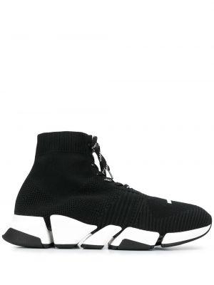 Массивные черные носки на шнуровке Balenciaga