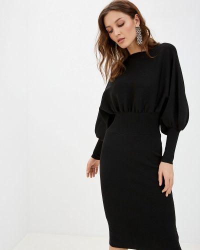 Прямое черное платье Tantra