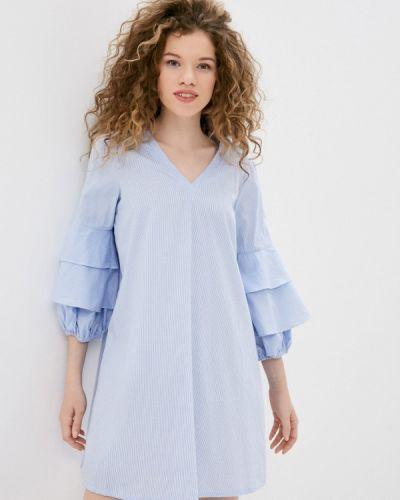 Платье - голубое Silvian Heach