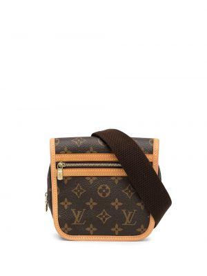 Коричневая сумка с карманами Louis Vuitton