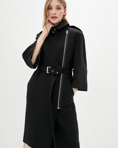 Длинное пальто - черное Kano