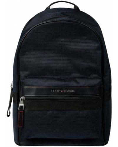 Niebieski plecak na laptopa Tommy Hilfiger