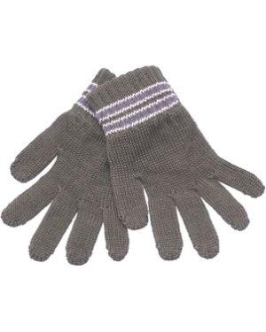 Перчатки теплые зеленый Margot Bis