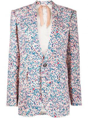 Прямой пиджак с карманами на пуговицах N°21