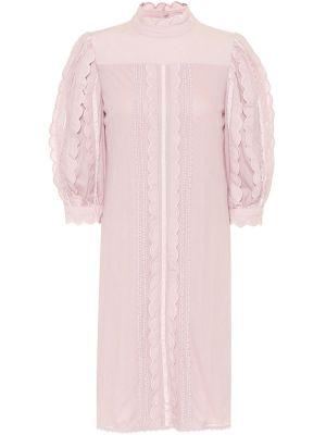 Платье розовое модерн See By Chloe