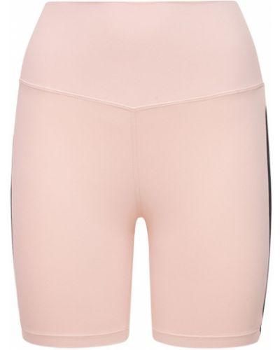 Розовые шорты эластичные Splits59